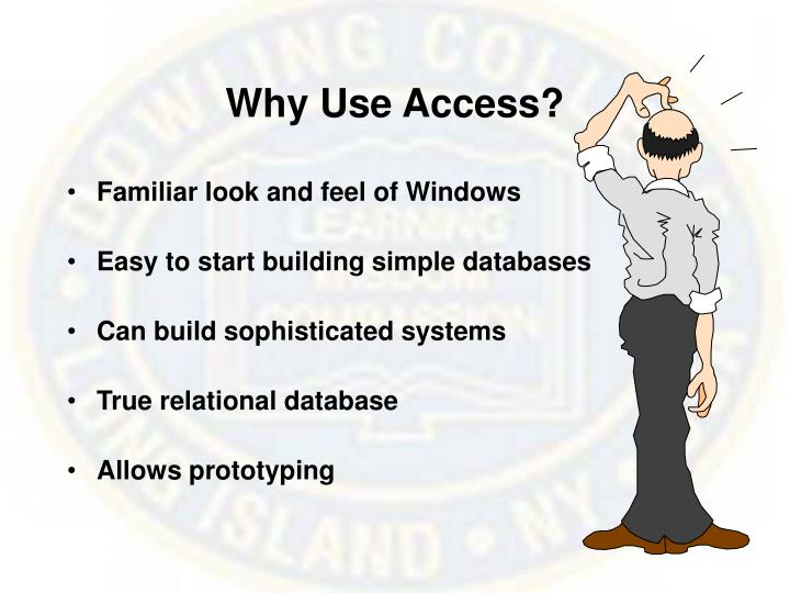 Why Use Access?