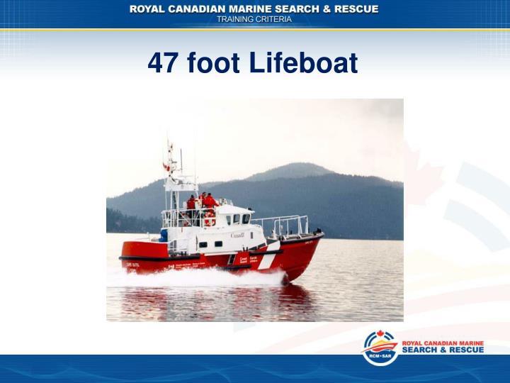 47 foot Lifeboat
