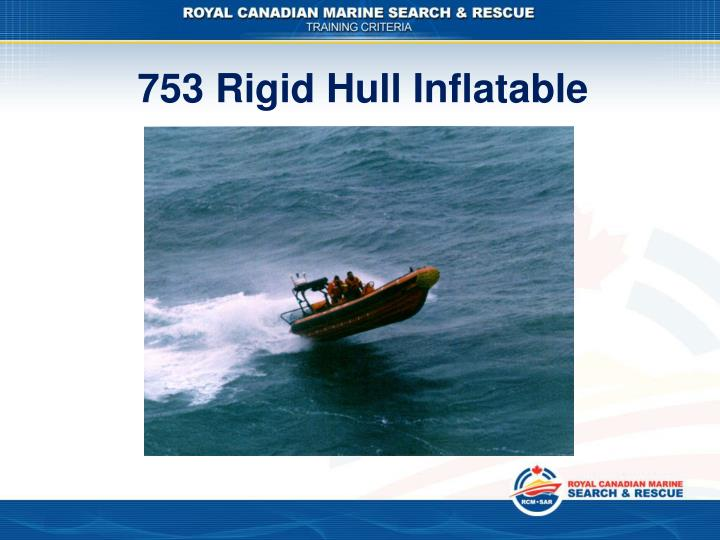 753 Rigid Hull Inflatable