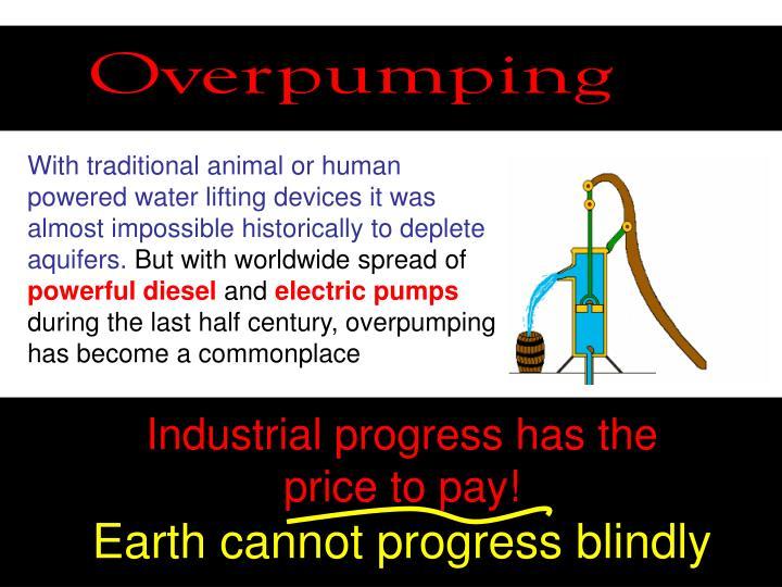 Overpumping
