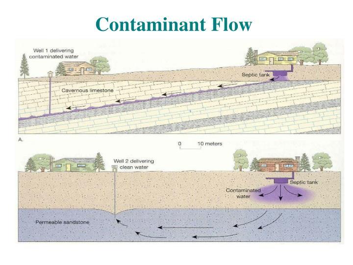 Contaminant Flow