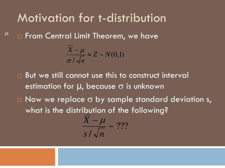 From Central Limit Theorem, we have