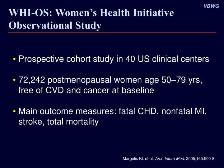 Whi os women s health initiative observational study