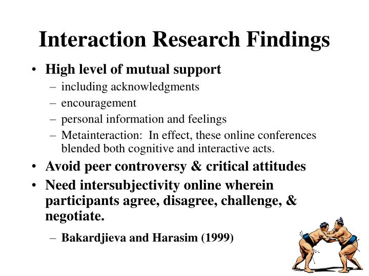 Interaction Research Findings