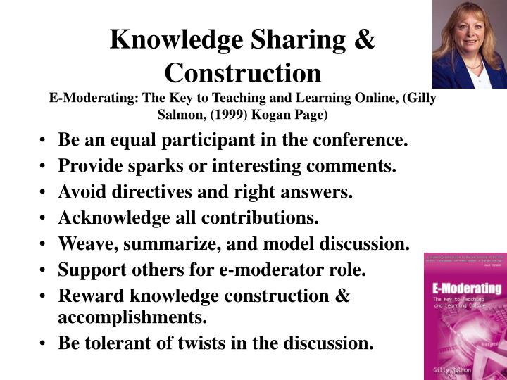 Knowledge Sharing & Construction