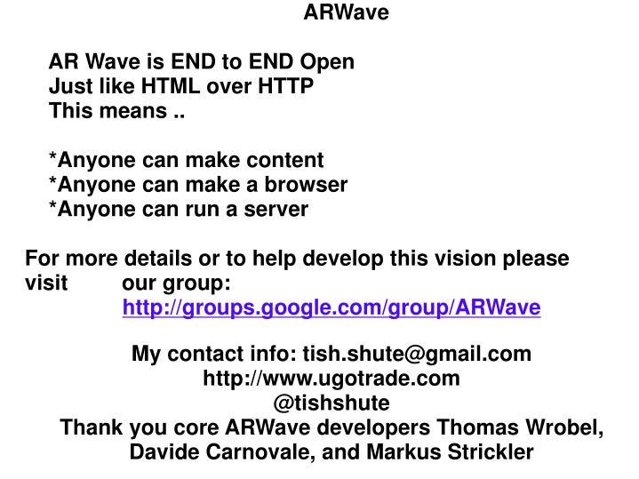 ARWave