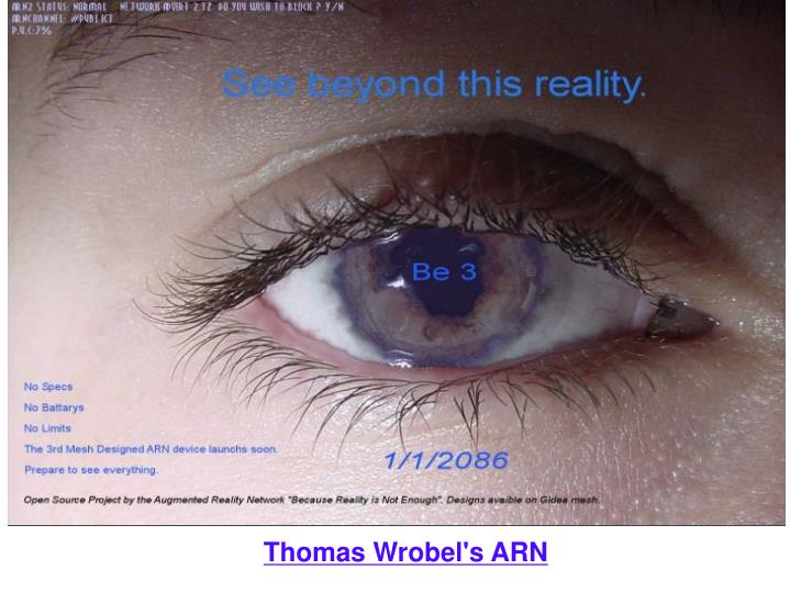 Thomas Wrobel's ARN
