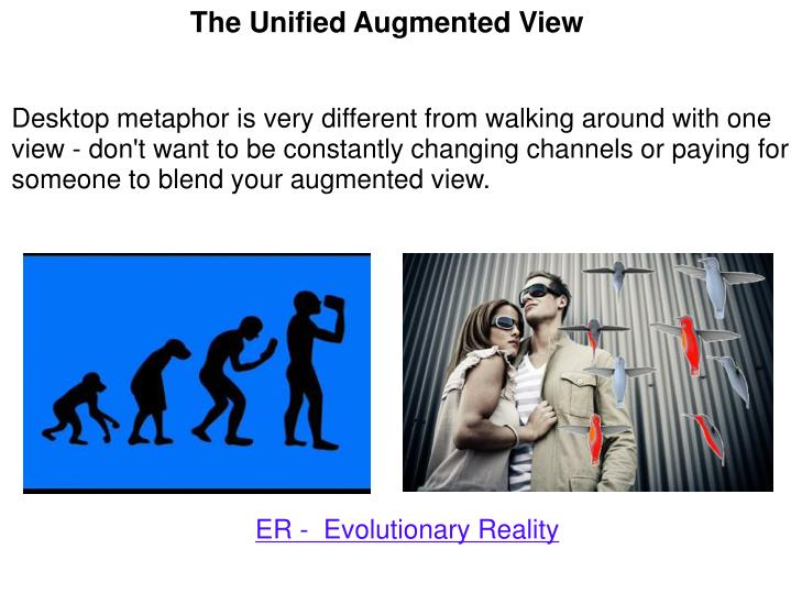 The Unified Augmented View