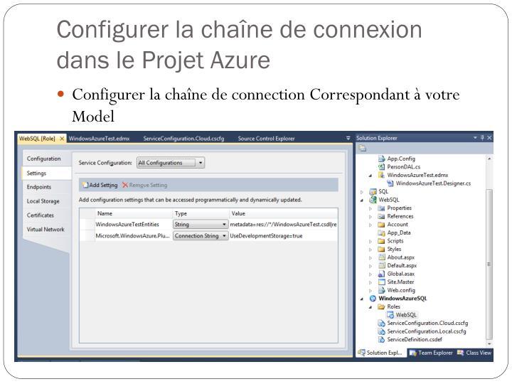Configurer