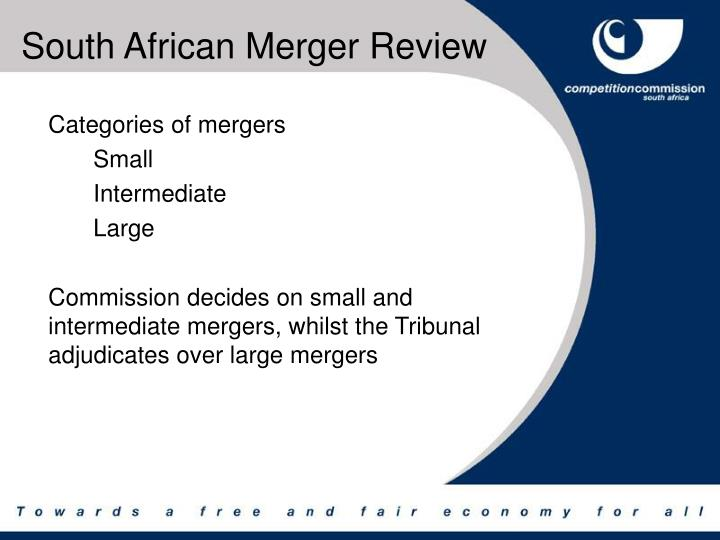South African Merger Review