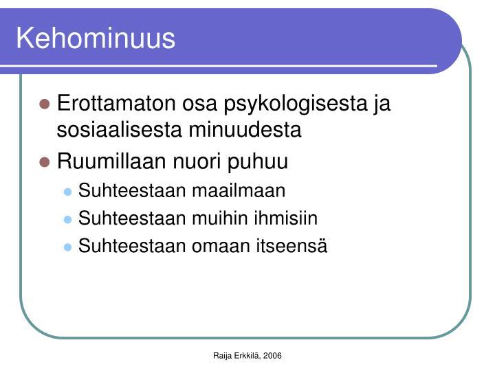 Kehominuus