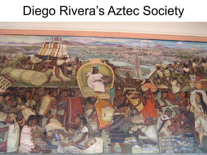 Diego Rivera's Aztec Society