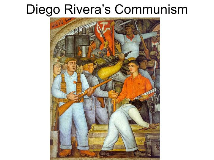 Diego Rivera's Communism