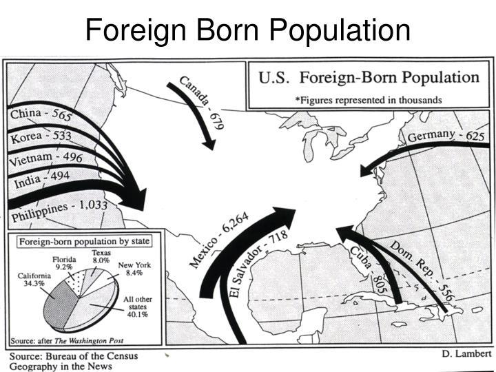 Foreign Born Population