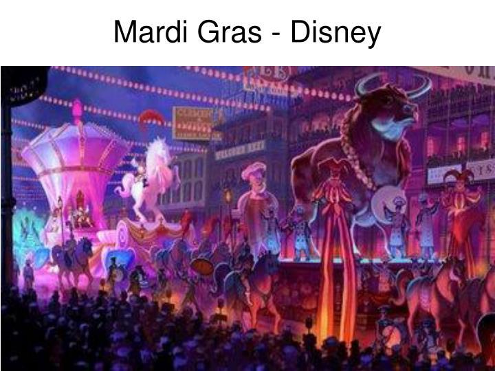 Mardi Gras - Disney