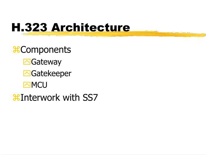 H.323 Architecture