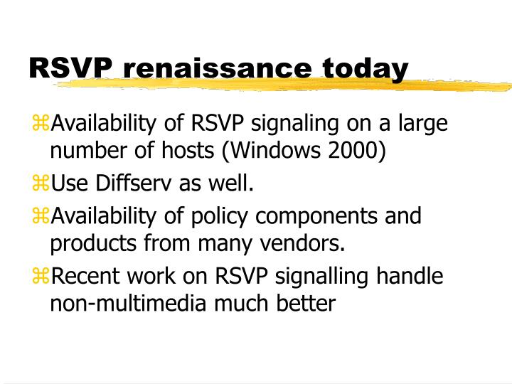 RSVP renaissance today