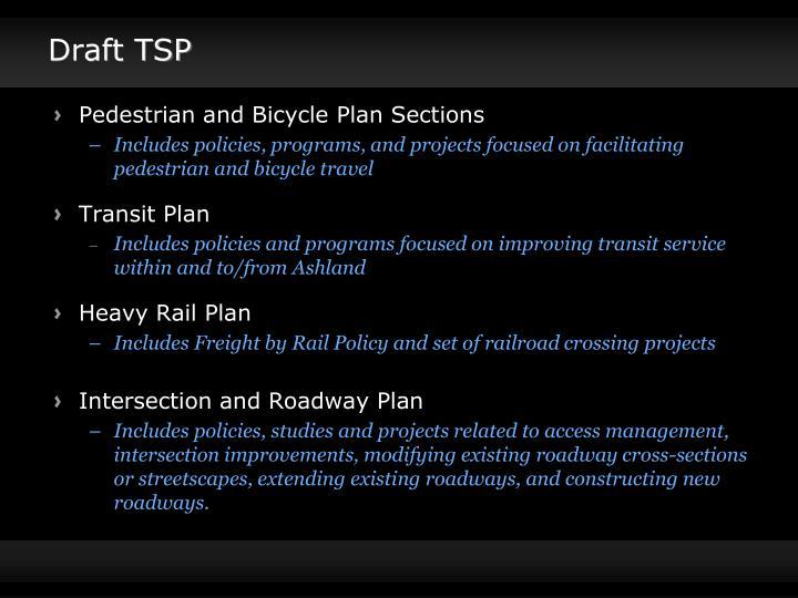 Draft TSP