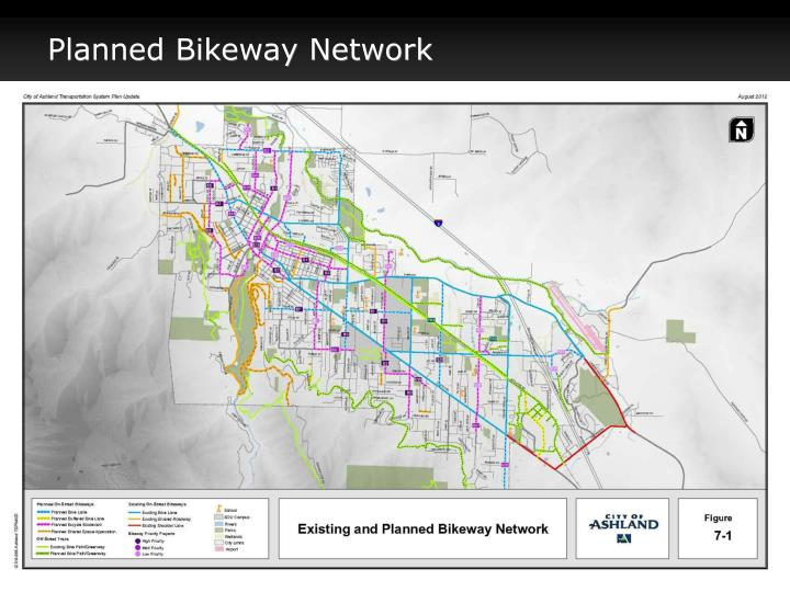 Planned Bikeway Network
