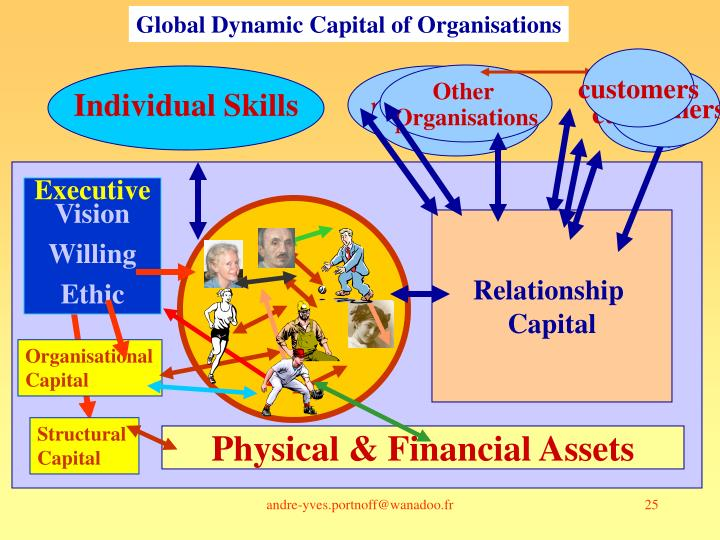 Global Dynamic Capital of Organisations
