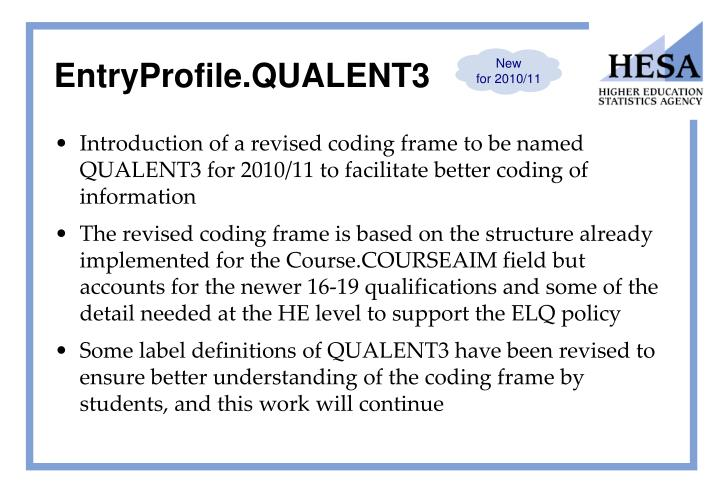 EntryProfile.QUALENT3