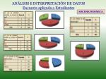 an lisis e interpretaci n de datos encuesta aplicada a estudiantes1