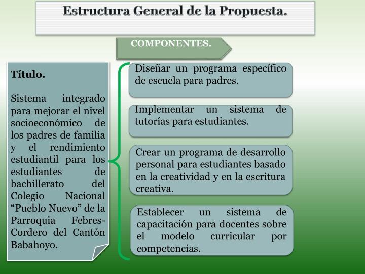 Estructura G