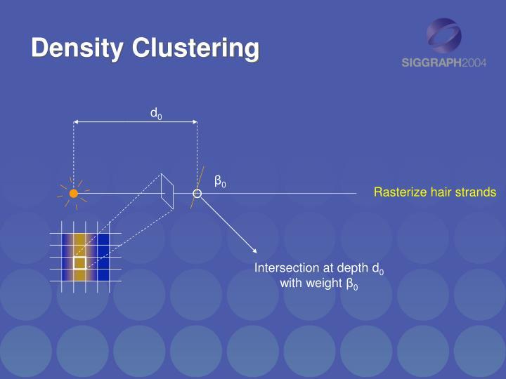 Density Clustering
