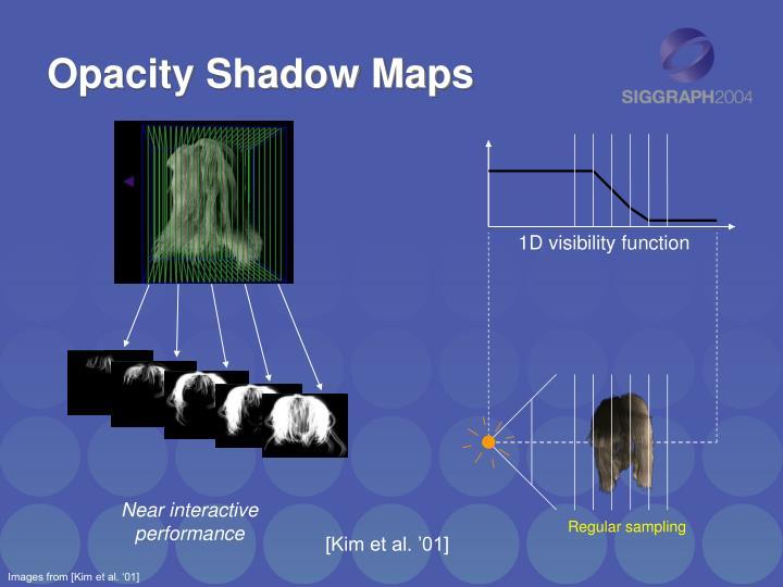 Opacity Shadow Maps