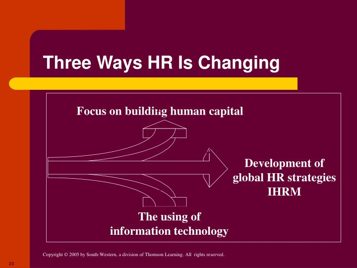 Three Ways HR Is Changing