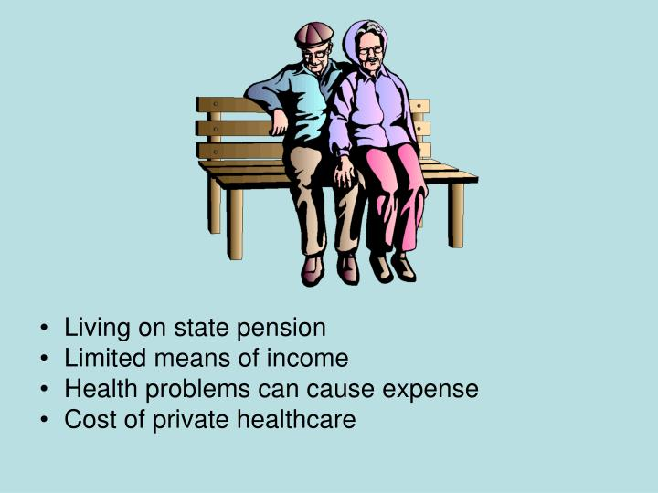 Living on state pension
