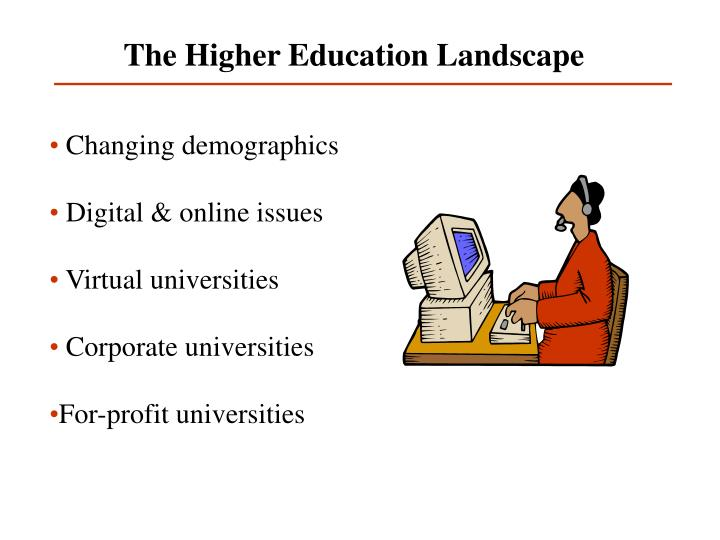 The Higher Education Landscape