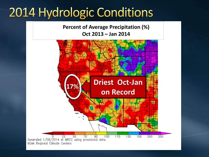 2014 Hydrologic Conditions
