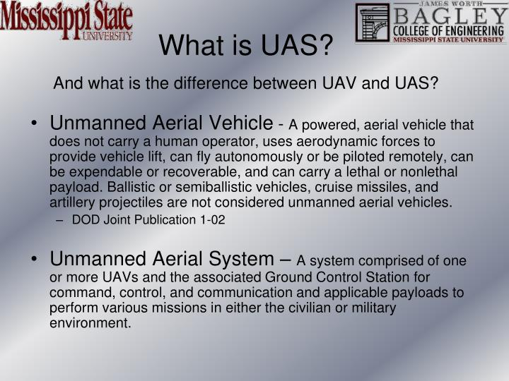 What is UAS?