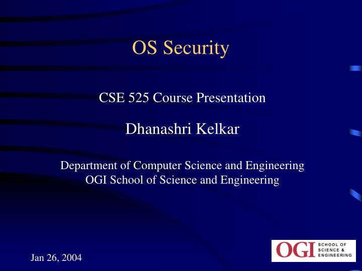 Os security