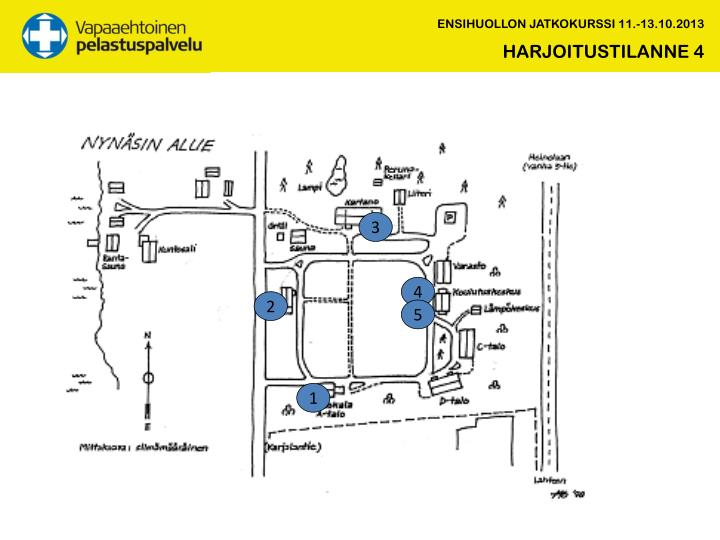 ENSIHUOLLON JATKOKURSSI 11.-13.10.2013