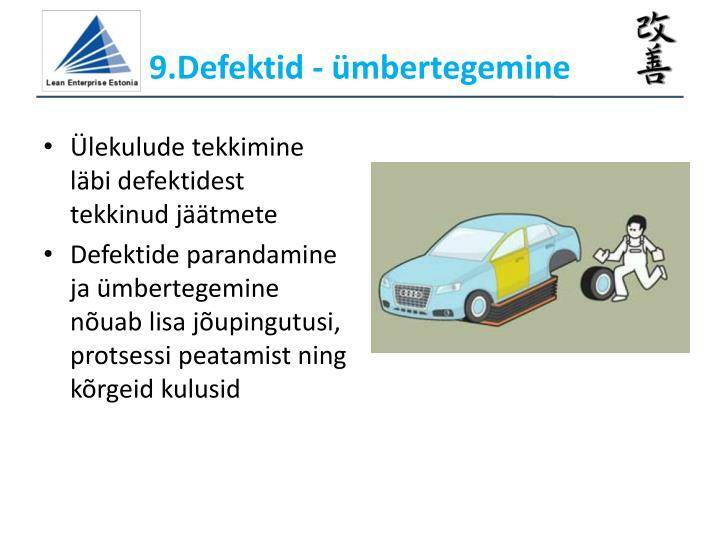 9.Defektid - ümbertegemine