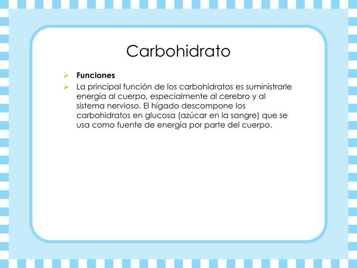 Carbohidrato