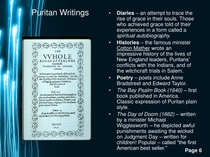 Puritan Writings