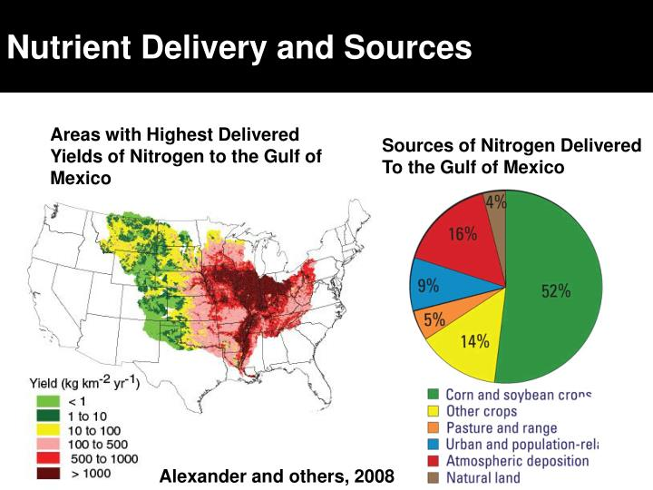 Nutrient Delivery and Sources