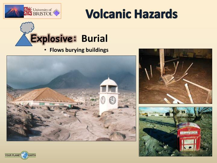 volcanic activity hazards to people Volcanic activity began between one half and one  the potential hazards posed by mount rainier led to its inclusion as one of the sixteen volcanoes worldwide to.
