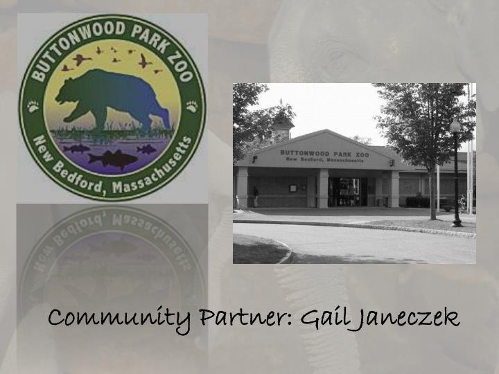 Community Partner: Gail