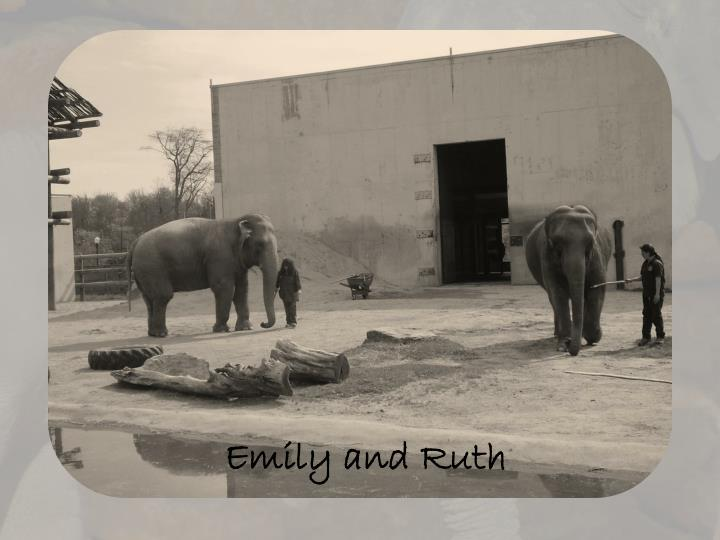 Emily and Ruth