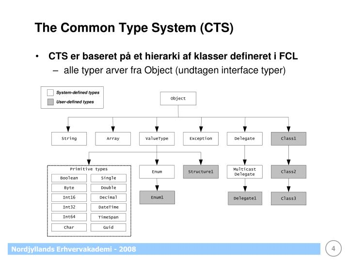 The Common Type System (CTS)