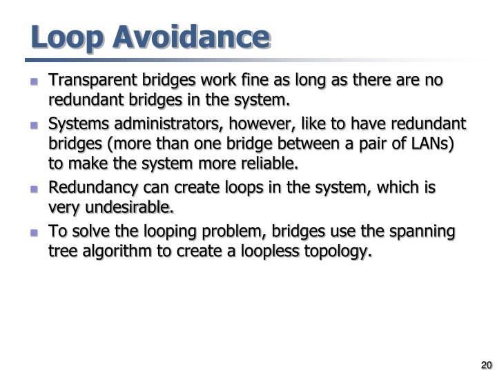 Loop Avoidance