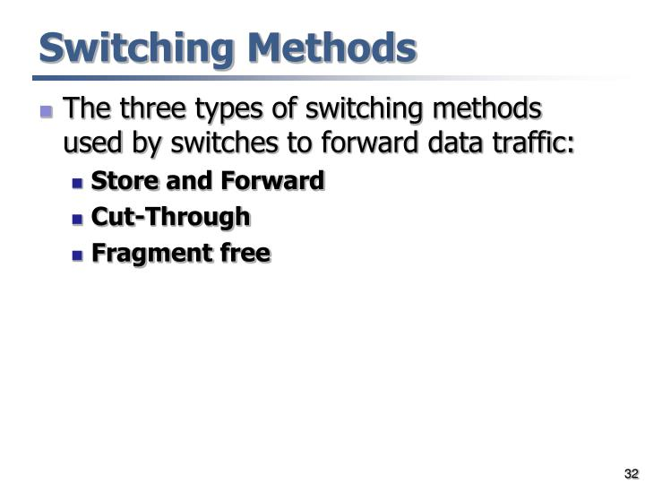 Switching Methods