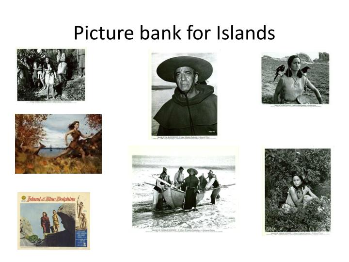 Picture bank for Islands
