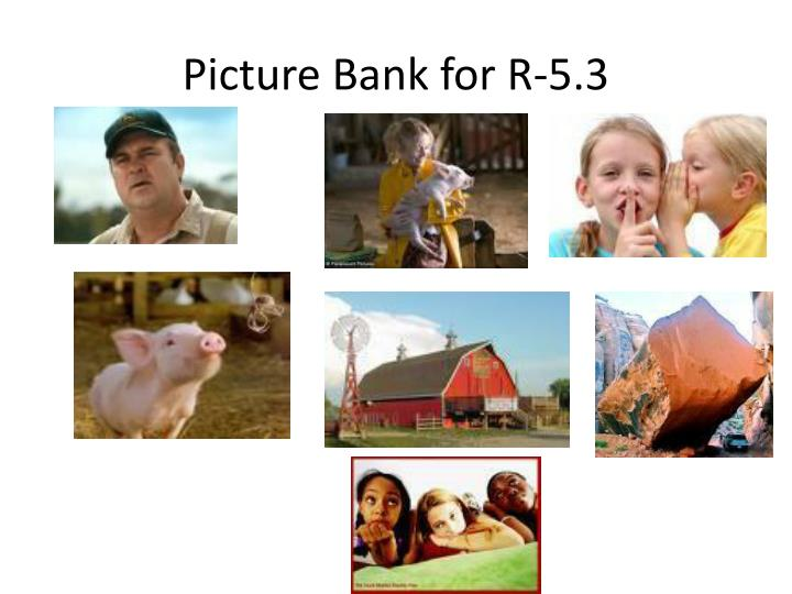 Picture Bank for R-5.3
