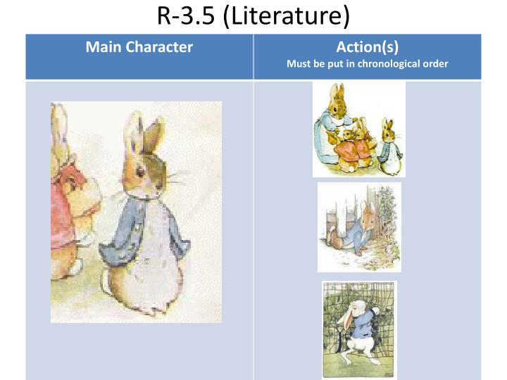 R-3.5 (Literature)