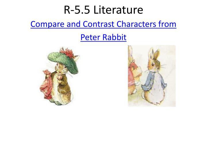 R-5.5 Literature